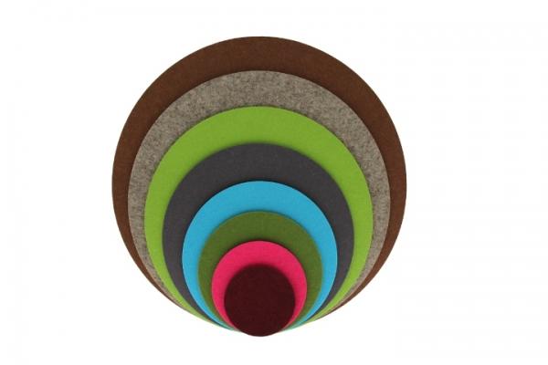 voigt24shop filzuntersetzer rund durchmesser 40 cm. Black Bedroom Furniture Sets. Home Design Ideas